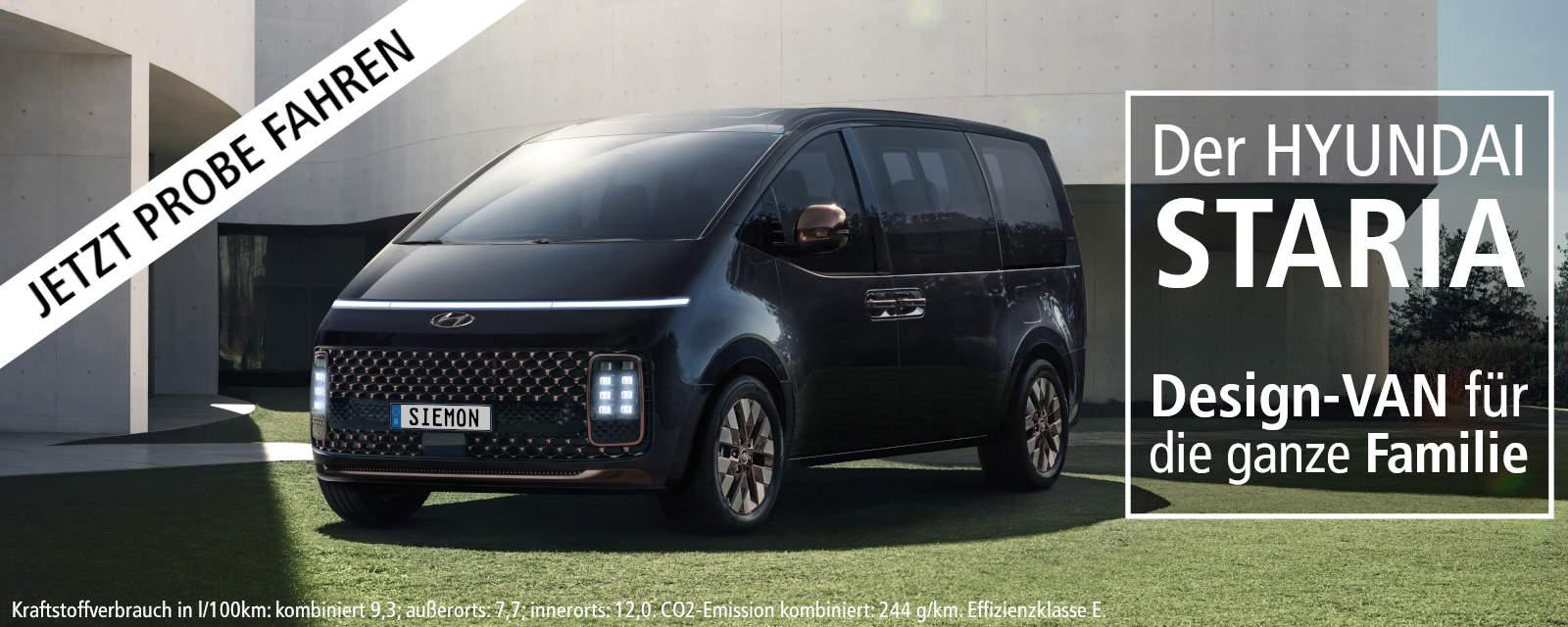 HYUNDAI STARIA - Design-Van - Leasing & Finanzierung